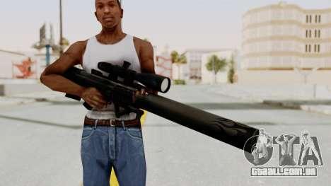 VKS Sniper Rifle para GTA San Andreas terceira tela