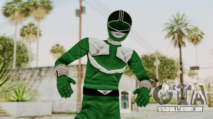 Power Rangers Time Force - Green para GTA San Andreas