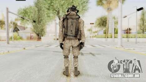 COD MW2 Shadow Company Soldier 2 para GTA San Andreas terceira tela
