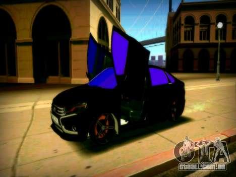 Lada Vesta Lambo para GTA San Andreas traseira esquerda vista