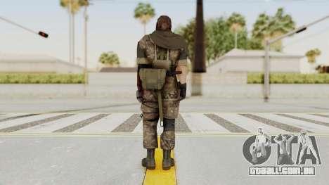 MGSV The Phantom Pain Venom Snake Sc No Patch v9 para GTA San Andreas terceira tela