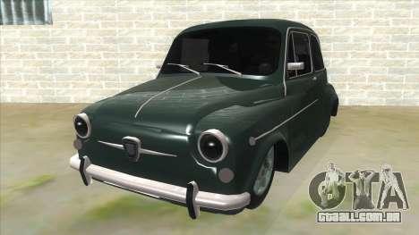Fiat 600 para GTA San Andreas