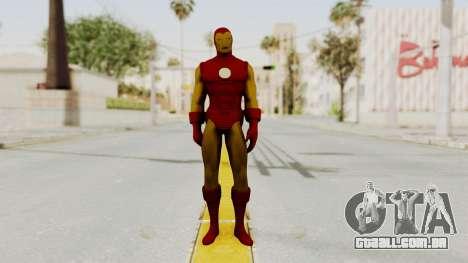Marvel Heroes - Iron Man Classic para GTA San Andreas segunda tela