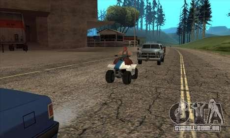 Atualizado tráfego para GTA San Andreas segunda tela