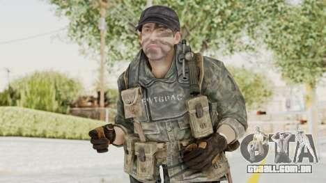 COD BO USA Soldier Ubase para GTA San Andreas
