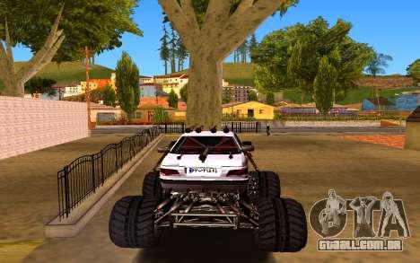 Peugeot Persia Full Sport Monster para GTA San Andreas traseira esquerda vista