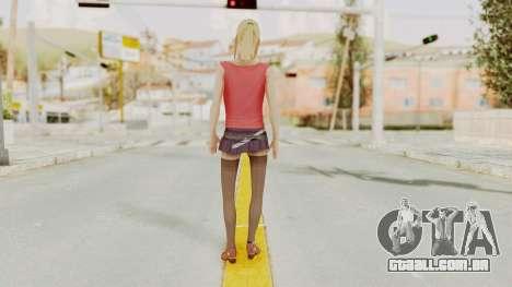 Millie Skin para GTA San Andreas terceira tela