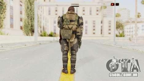 MGSV Phantom Pain Venom Snake Battle Dress para GTA San Andreas terceira tela
