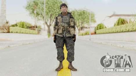 COD BO USA Soldier Ubase para GTA San Andreas segunda tela