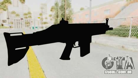 SCAR H para GTA San Andreas terceira tela