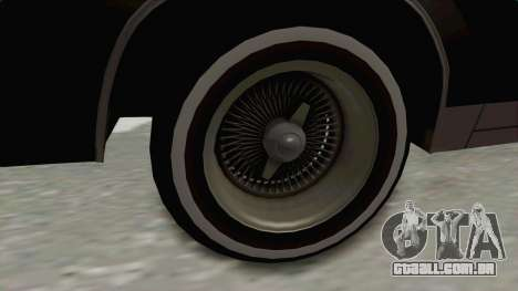 Buick Regal 1986 para GTA San Andreas vista traseira
