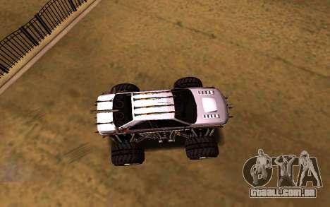 Peugeot Persia Full Sport Monster para GTA San Andreas vista direita