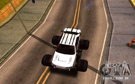Peugeot Persia Full Sport Monster para GTA San Andreas vista traseira