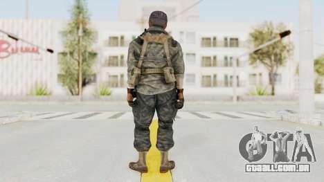COD BO USA Soldier Ubase para GTA San Andreas terceira tela
