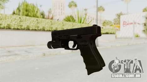 Glock 19 Gen4 Flashlight para GTA San Andreas terceira tela
