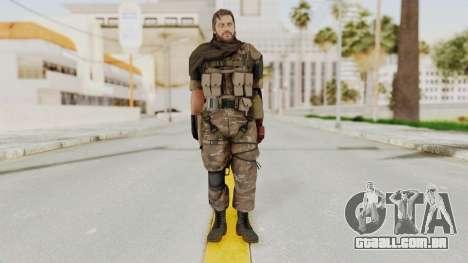 MGSV The Phantom Pain Venom Snake Sc No Patch v9 para GTA San Andreas segunda tela