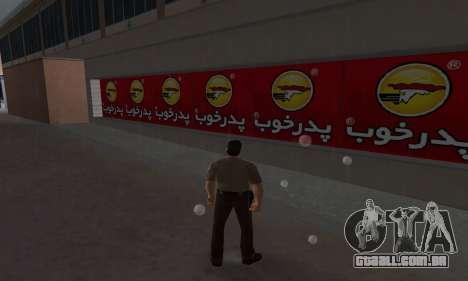 Pizza Shop Iranian V2 para GTA Vice City terceira tela