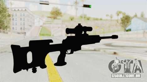 Longbow-DMR para GTA San Andreas terceira tela