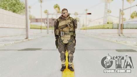 MGSV Phantom Pain Venom Snake Battle Dress para GTA San Andreas segunda tela