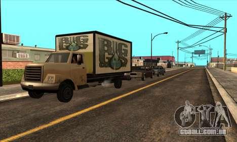 Atualizado tráfego para GTA San Andreas