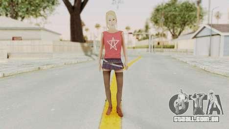 Millie Skin para GTA San Andreas segunda tela