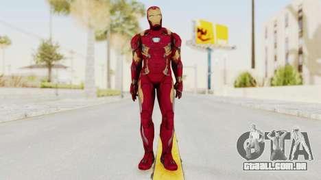 Iron Man Mark 46 para GTA San Andreas segunda tela
