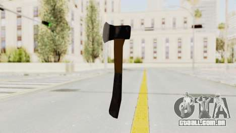 Liberty City Stories Handaxe para GTA San Andreas terceira tela