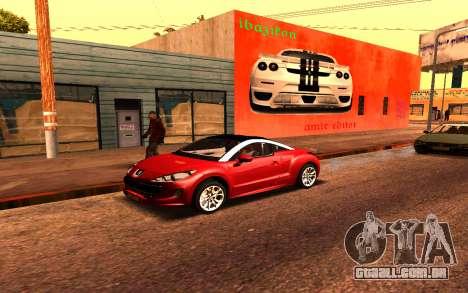Ferrari Wall Graffiti para GTA San Andreas segunda tela