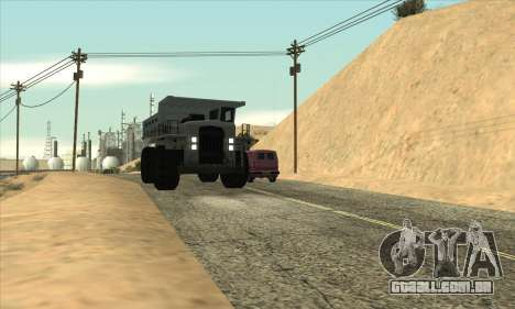 Atualizado tráfego para GTA San Andreas terceira tela