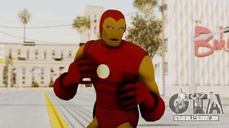Marvel Heroes - Iron Man Classic para GTA San Andreas