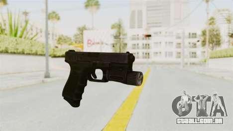 Glock 19 Gen4 Flashlight para GTA San Andreas segunda tela