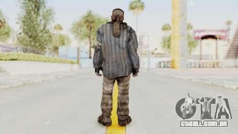 COD BO Reznov Vorkuta para GTA San Andreas terceira tela