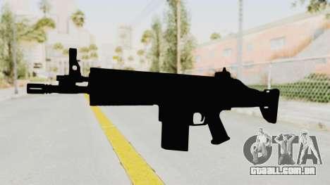 SCAR H para GTA San Andreas segunda tela