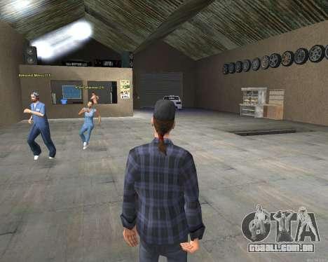 O interior de STO San Fierro v2.0 para GTA San Andreas terceira tela