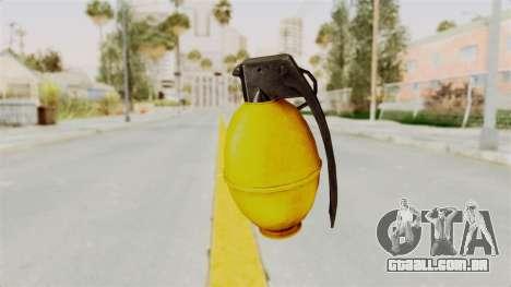 Grenade Gold para GTA San Andreas segunda tela
