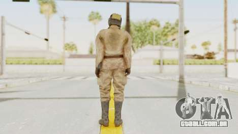 MGSV The Phantom Pain Soviet Union Radioman NVG para GTA San Andreas terceira tela