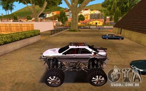 Peugeot Persia Full Sport Monster para GTA San Andreas esquerda vista