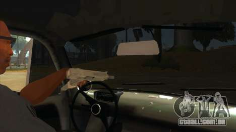 Fiat 600 para GTA San Andreas vista interior