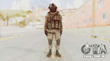 COD MW2 Shadow Company Soldier 2 para GTA San Andreas segunda tela
