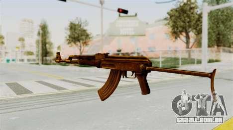 AK-47S Gold para GTA San Andreas segunda tela