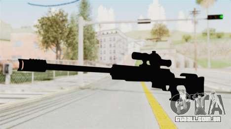 Longbow-DMR para GTA San Andreas segunda tela