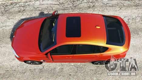 GTA 5 BMW X6 M (F16) v1.6 voltar vista