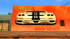 Ferrari Wall Graffiti para GTA San Andreas