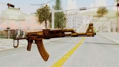 AK-47S Gold para GTA San Andreas