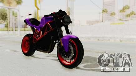 Ducati 1098 Nakedbike para GTA San Andreas