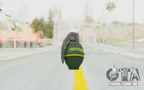 APB Reloaded - Grenade para GTA San Andreas terceira tela