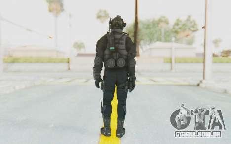 Federation Elite Assault Tactical para GTA San Andreas terceira tela