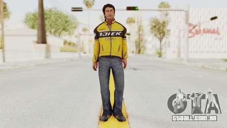 Dead Rising 3 Nick Ramos on Chucks Outfit para GTA San Andreas segunda tela