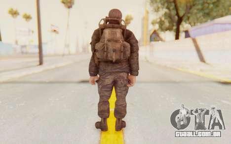 COD BO Mason Vietnam para GTA San Andreas terceira tela