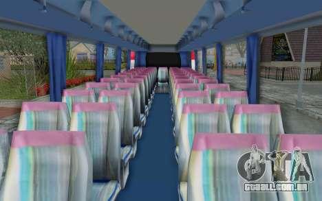 Neoplan Euro 2016 Hungarian Bus para GTA San Andreas vista traseira